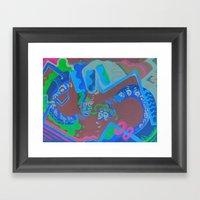 Banana Framed Art Print