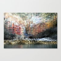 All About Italy. Piece 17 - Riomaggiore Essence Canvas Print