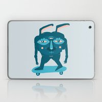 Skater Bunny Laptop & iPad Skin