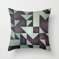 :: geometric maze VIII :: Throw Pillow