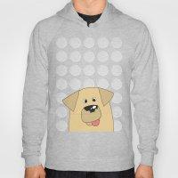 Labrador Yellow Dog Hoody