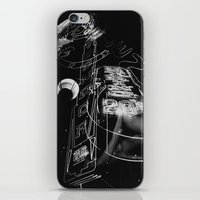 Neon Strip iPhone & iPod Skin