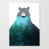 To Me Comes A Creature Canvas Print