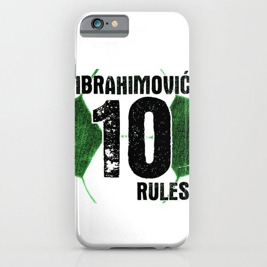 Ibrahimovic 10 Rules iPhone & iPod Case