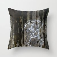 Wet And Dry Season Throw Pillow