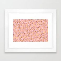 Wallflower - Coralette Framed Art Print