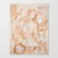 sepia I Canvas Print