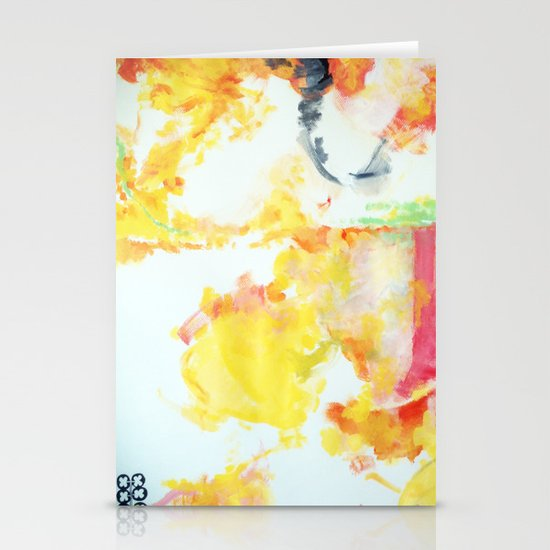 watercolor 2 Stationery Card
