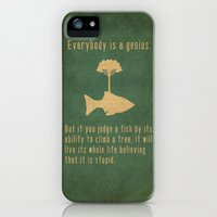 iPhone 5s & iPhone 5 Cases featuring Einstein by Tracie Andrews