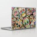 Sugar Skull Collage Laptop & iPad Skin