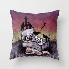 Sleeping at last Throw Pillow