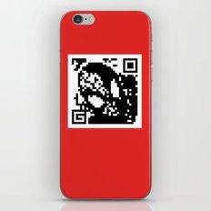 QR- Spiderman iPhone & iPod Skin