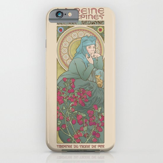 The Queen of thorns iPhone & iPod Case
