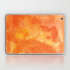 Watercolor Orange Laptop & iPad Skin
