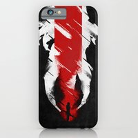 iPhone Cases featuring The Effect (FemShep - Reaped) by Archymedius