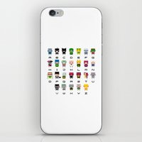 Pixel Supervillain Alpha… iPhone & iPod Skin