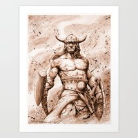 CONAN Robert E. Howard (… Art Print