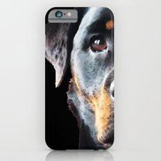 Rottie Love - Rottweiler Art By Sharon Cummings iPhone 6s Slim Case