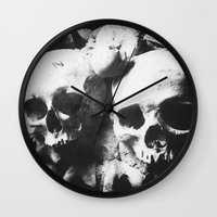 Catacombes Wall Clock