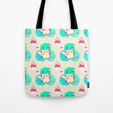 PikachuPattern Tote Bag