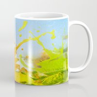 Splashing Sunflower Mug