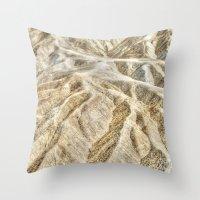 Death Valley desert Throw Pillow