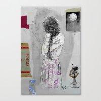 Moon Poem Canvas Print