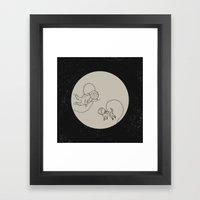 Come With Me, I'll Take … Framed Art Print