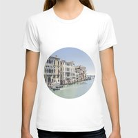 Venezia I Womens Fitted Tee White SMALL