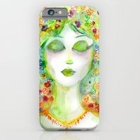 iPhone & iPod Case featuring Flower Girl by Kevin Van Gysel