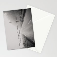 not all those who wander are lost ... Stationery Cards