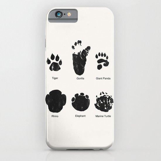 Animal Track iPhone & iPod Case