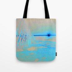 Sunrise Sets Tote Bag