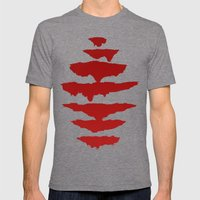 Seven Mens Fitted Tee Tri-Grey SMALL