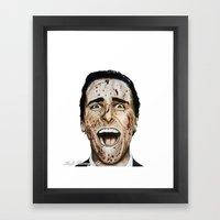 COLOURED PSYCHO Framed Art Print