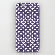 Dragon Scales Deep purple iPhone & iPod Skin