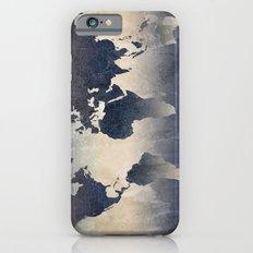 World Map Gray iPhone 6 Slim Case