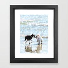 Sweet Meet Framed Art Print