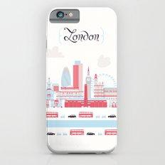 London upperground iPhone 6 Slim Case