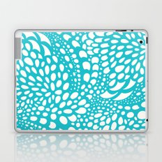 Octopus Dots: Bermuda Blue Laptop & iPad Skin