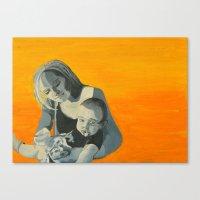 As an Infant Canvas Print