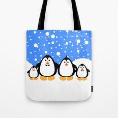 NGWINI - penguin family v3 Tote Bag