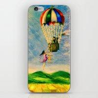 BALLOON LOVE: Flying Awa… iPhone & iPod Skin