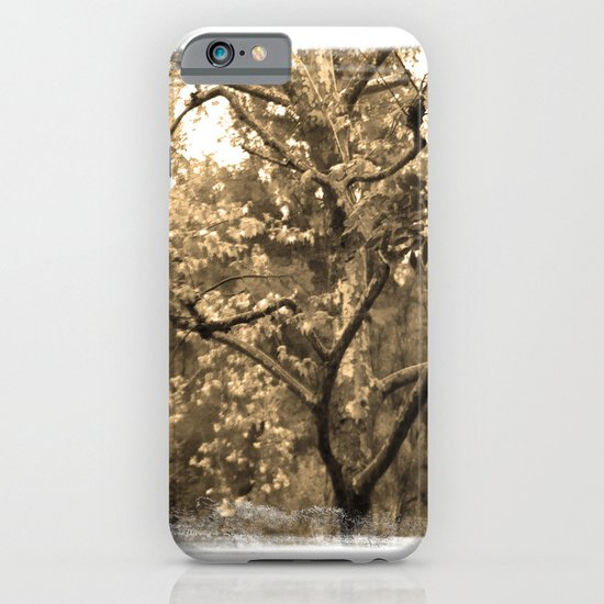 Tree of Hearts - Sepia iPhone & iPod Case