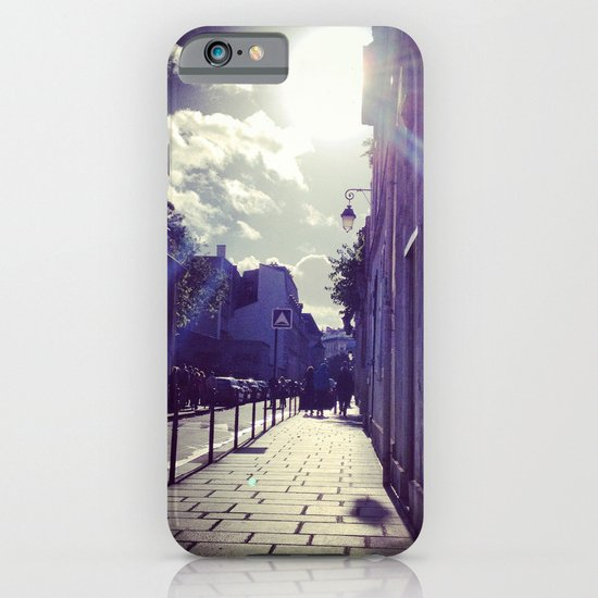 Ray of Sunshine on the Streets of Paris iPhone & iPod Case