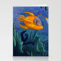 Deep Sea Adventure Stationery Cards
