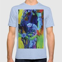 The Offering Mens Fitted Tee Athletic Blue SMALL