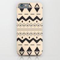 Peach Aztec iPhone 6 Slim Case