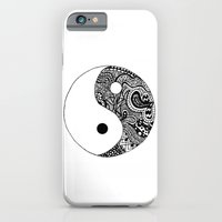 iPhone & iPod Case featuring Yin Yang by Abby Mitchell