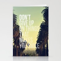 quotes Stationery Cards featuring QUOTES by magdam